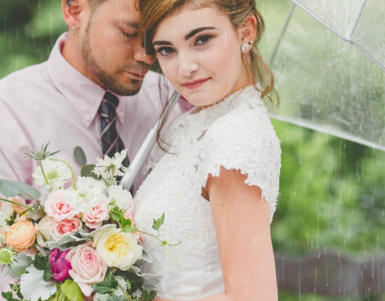 3 Ways to Survive a Rainy Wedding Day | Raleigh Wedding Photographer